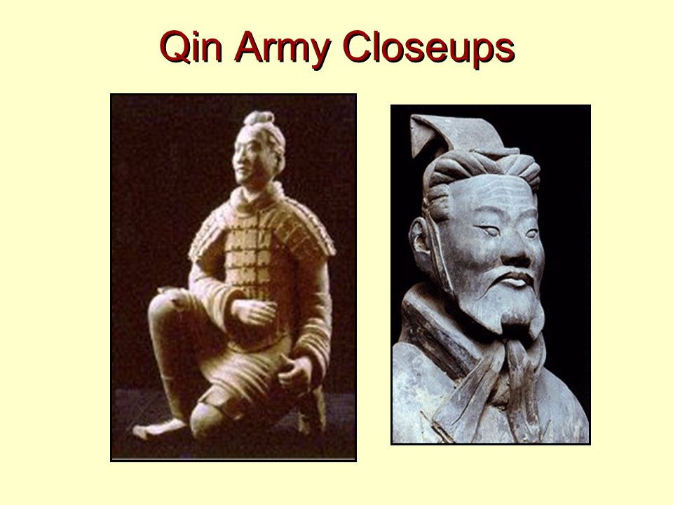 Qin Army Closeups