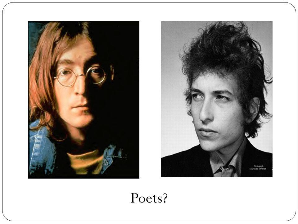 Poets?