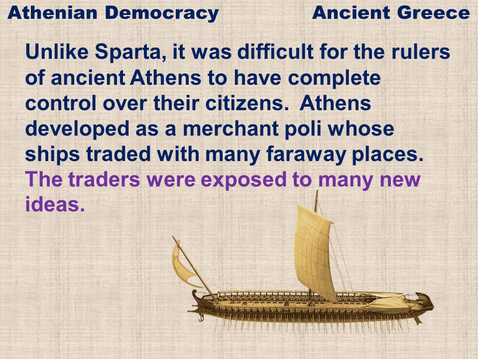 The first Athenian rulers were warriors who controlled the poli by force.
