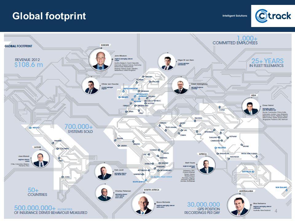 Global footprint 4