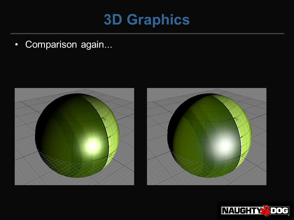 3D Graphics Comparison again...