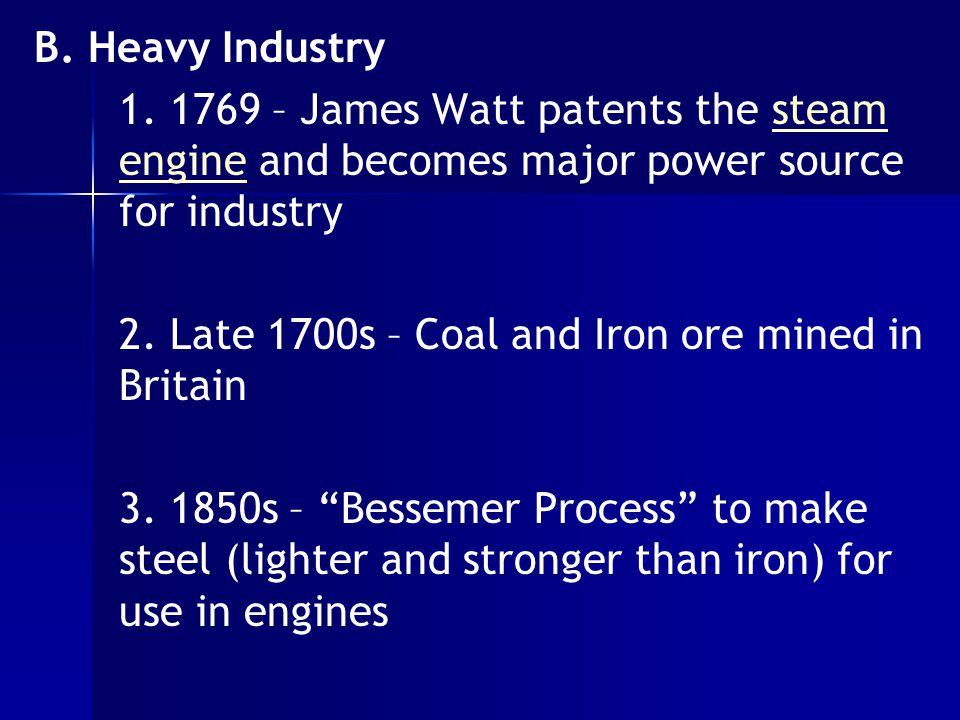 B. Heavy Industry 1.