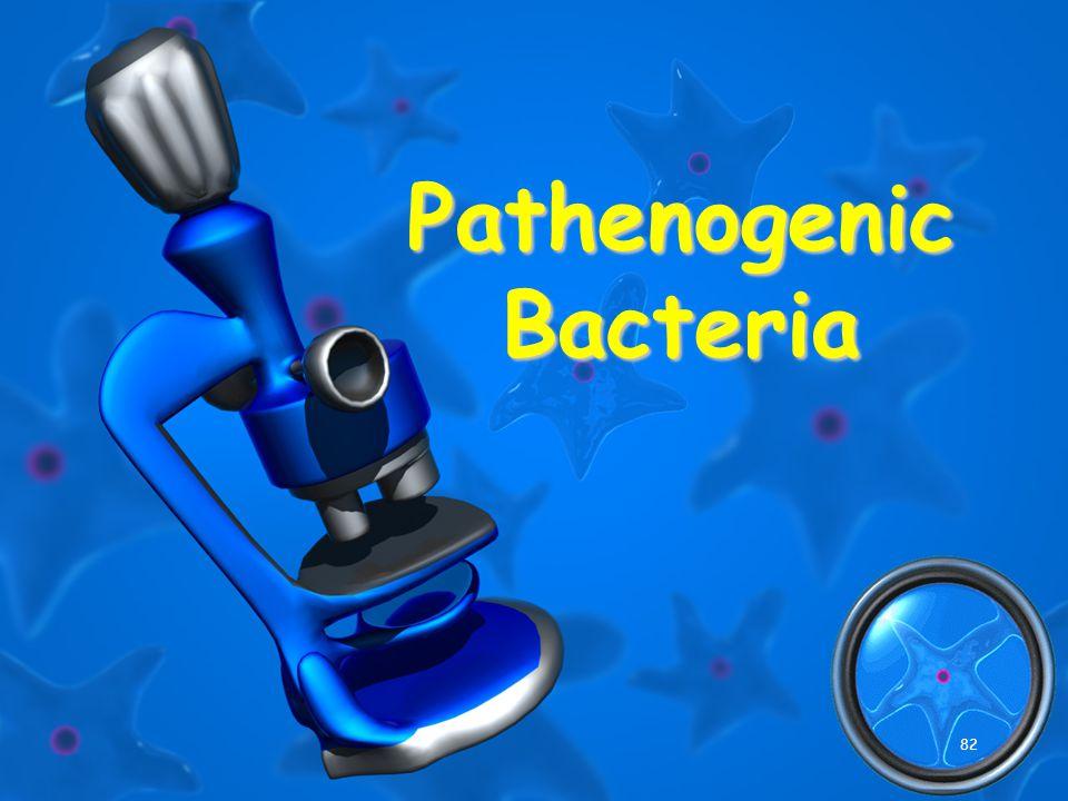 82 Pathenogenic Bacteria