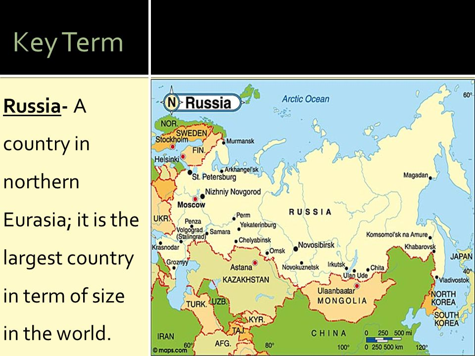 1.What are the major natural resources of Europe and Russia.