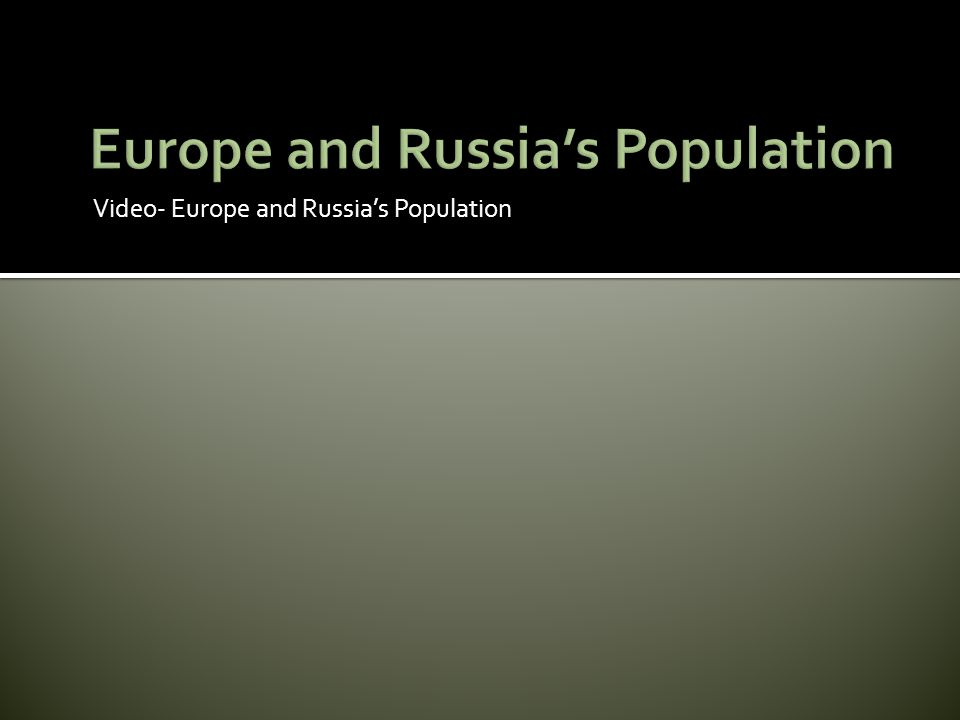  Europe s most important natural resources include fertile soil, water, and fuels.