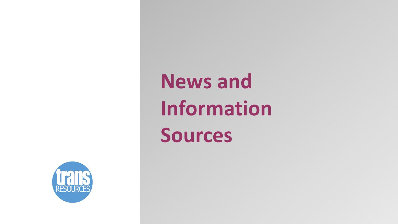 News and Information Sources