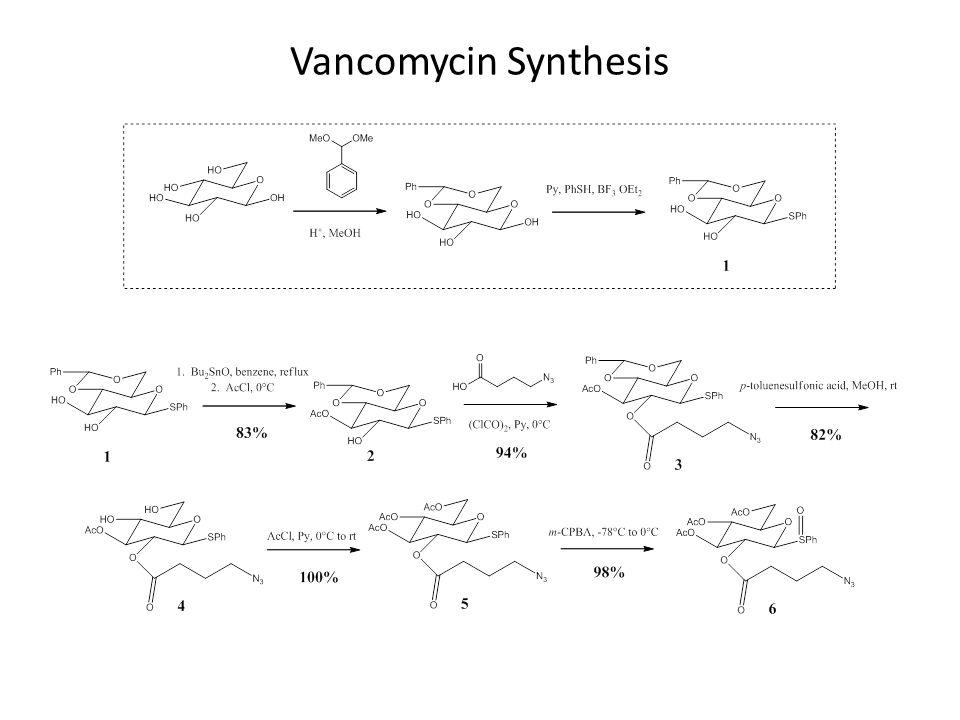 Vancomycin Synthesis