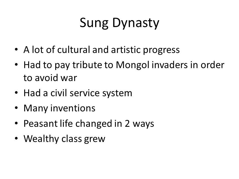 Tang and Sung Pamphlet Tang Dynasty group topics 1.