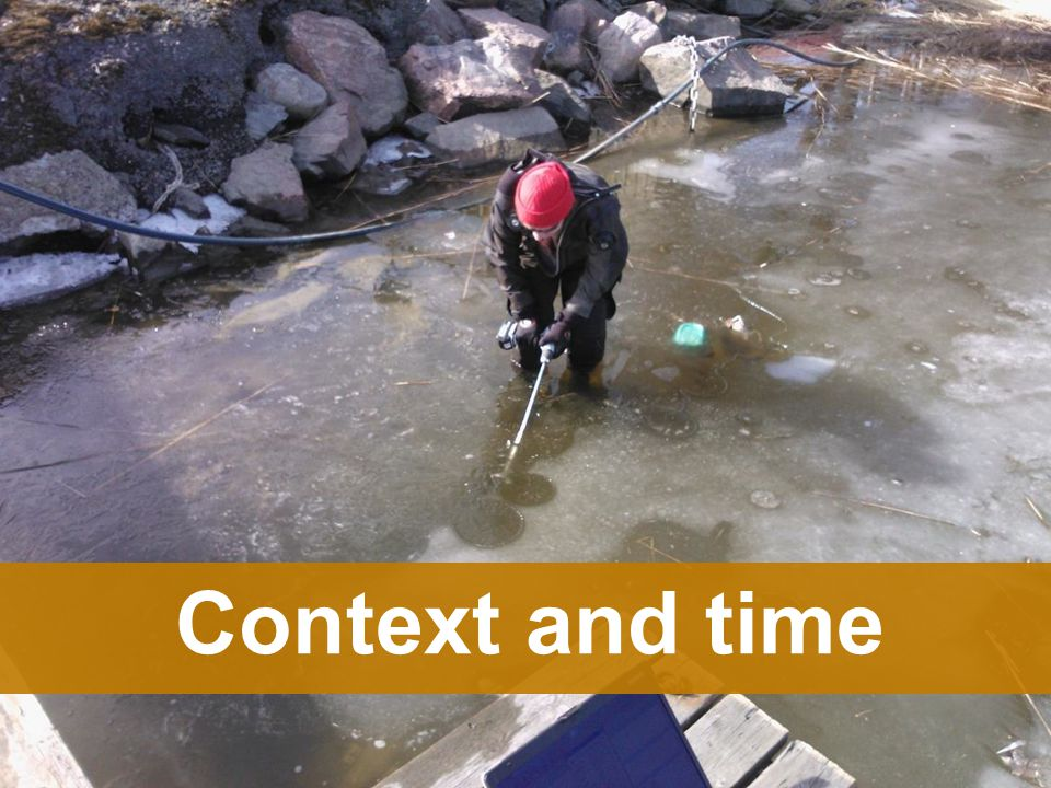 Context and time