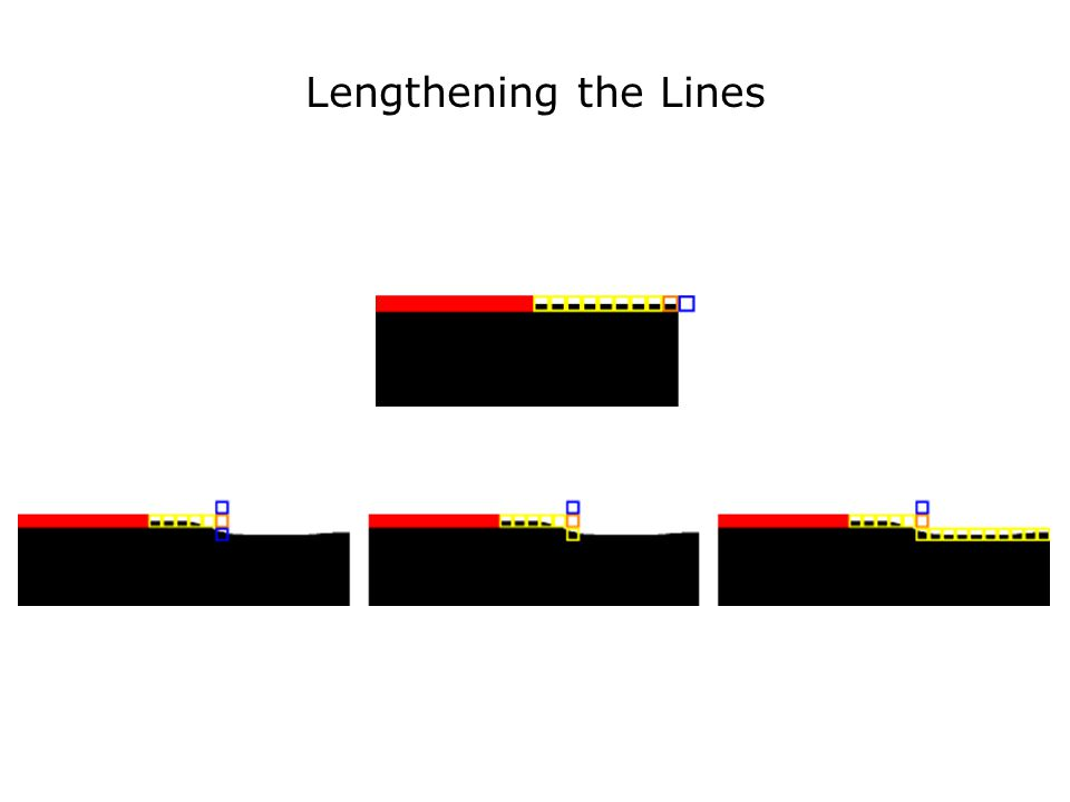 Lengthening the Lines