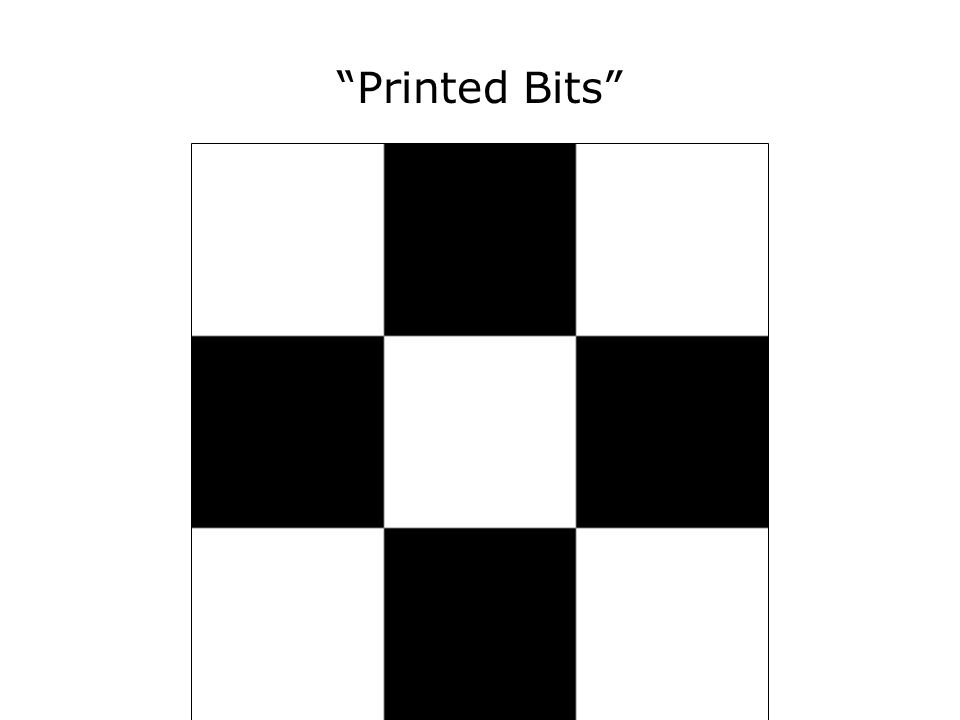Printed Bits