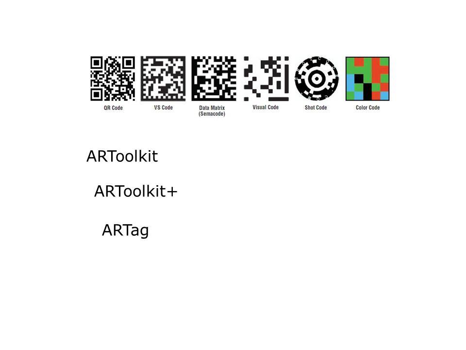 ARToolkit ARToolkit+ ARTag