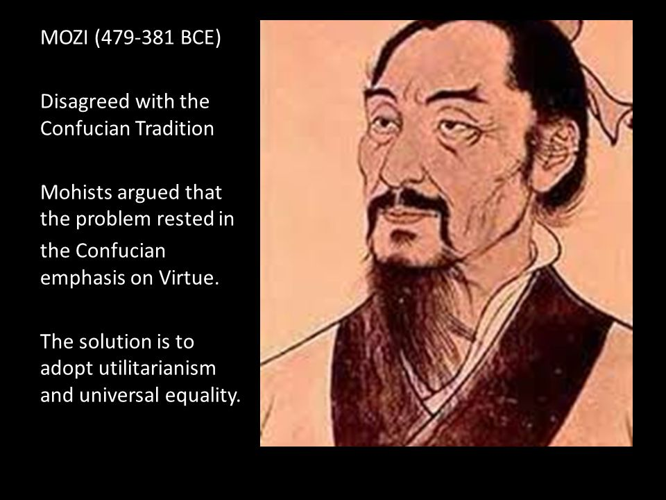 Han Fei (280-233 BCE) Disagreed with the Confucian Tradition.