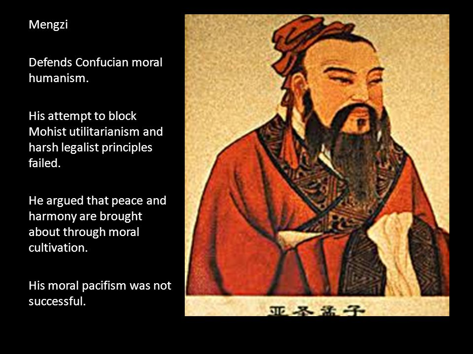Xunzi (310-220 BCE) Provided the groundwork for Dong Zhongshu's synthesis that persuaded Emperor Wu to adopt Confucianism as the official Chinese ideology.