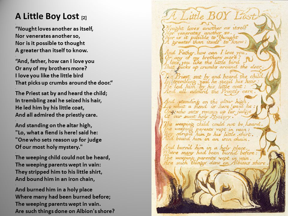 A Little Boy Lost [2].