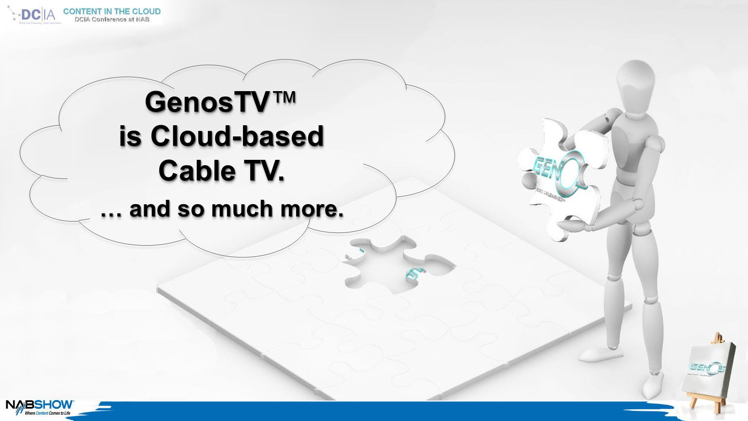 GenosTV™ is Cloud-based Cable TV. … and so much more.