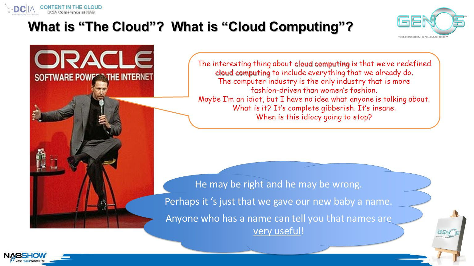 What is The Cloud . What is Cloud Computing .