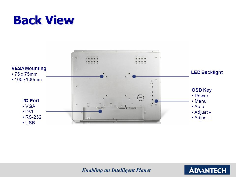 Case 1 Application: - Outdoor ATM Display Solution: - 15 1200nits open frame monitor - -20~60°C wide range temperature Benefit: - Excellent sunlight readable solution - Wide temperature support for harsh environment - Ready display solution with touch screen Application Story (Outdoor Kiosk)