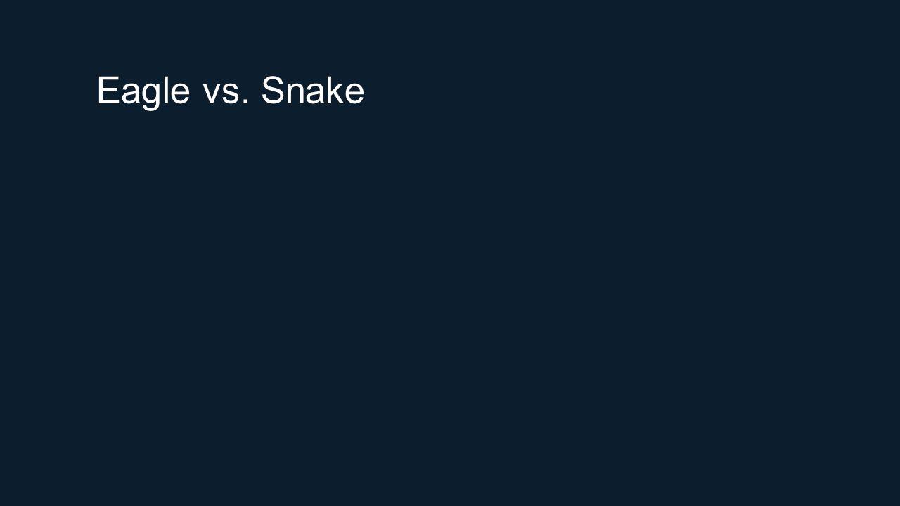 Eagle vs. Snake