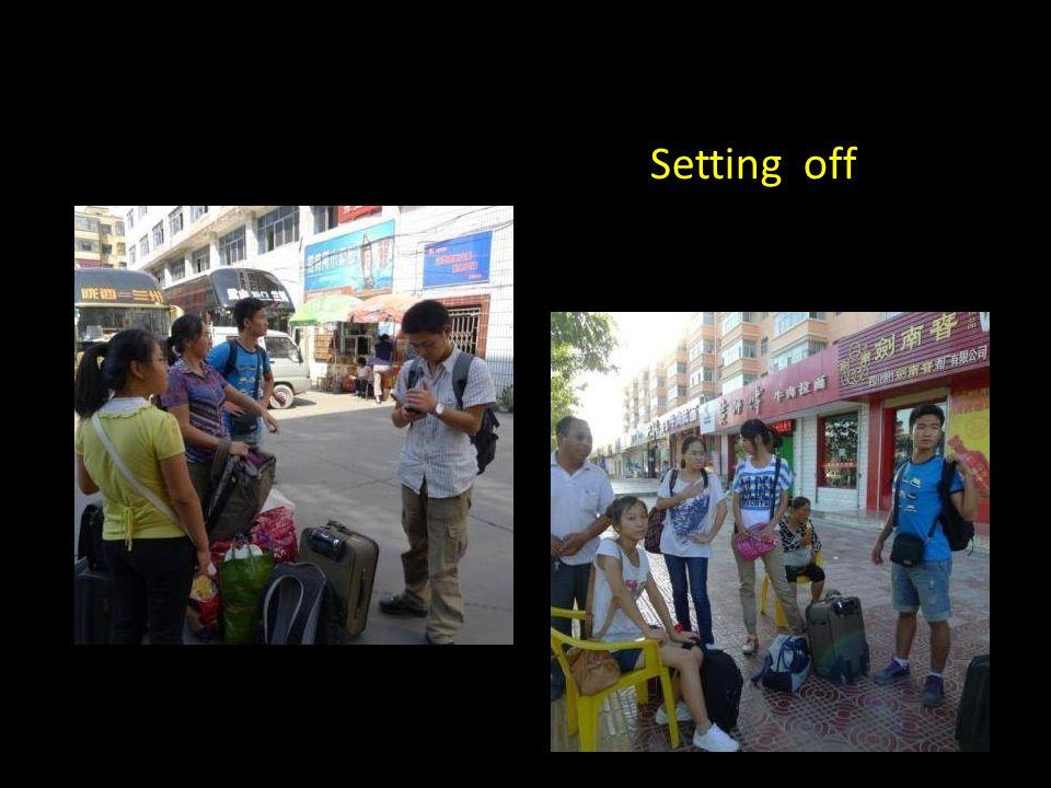 The volunteer teachers were undergraduates from universities all across China.