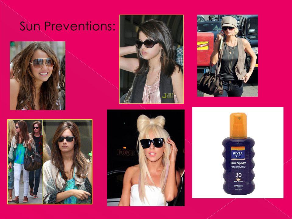 Sun Preventions: