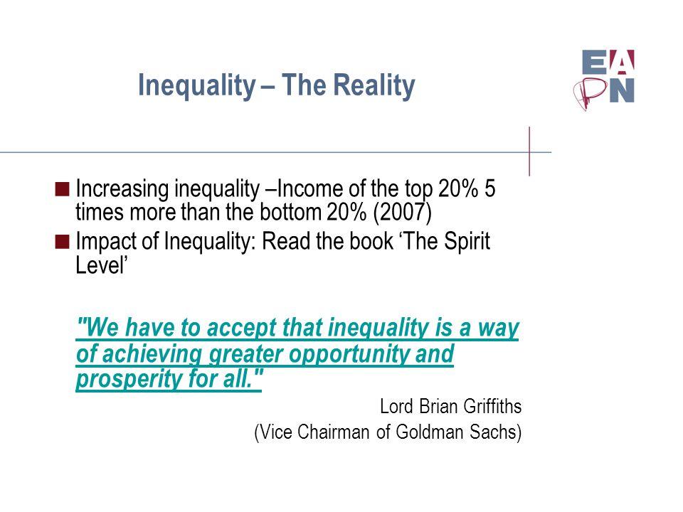 Impact of Inequality