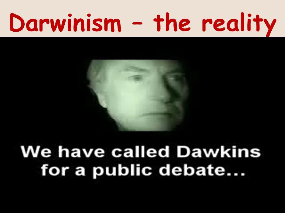 Darwinism – the reality