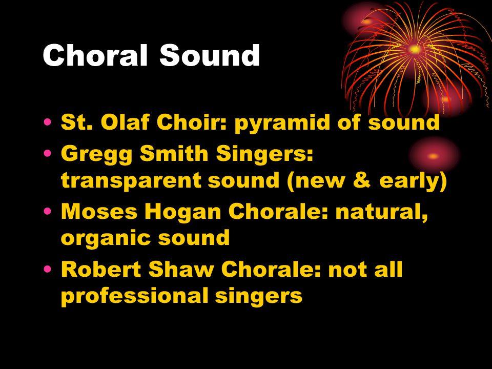 Choral Sound St.