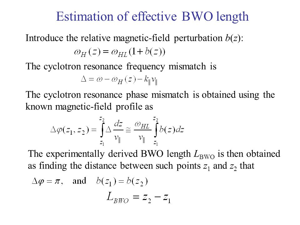 Results of modeling of the magnetospheric BWO configurations on 31 March 2001 for a magnetic field line at the CLUSTER-1 position.