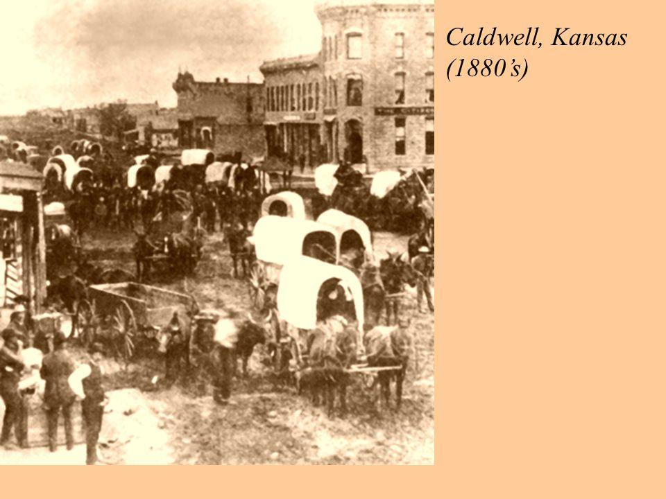 Caldwell, Kansas (1880's)