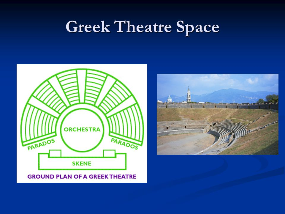 Greek Theatre Space