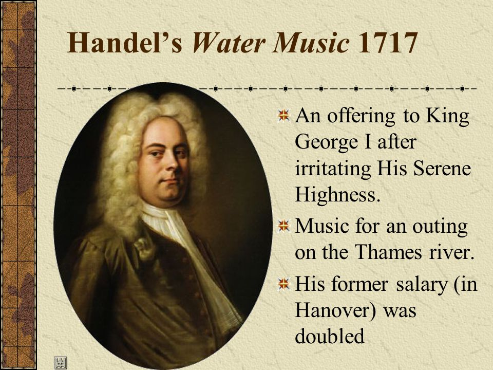 Hanover He traveled to London to stage his opera, which was very well received The next time he went to London, he just stayed He was dismissed by the Elector of Hanover The elector of Hanover, was crowned King George I of England in 1714.