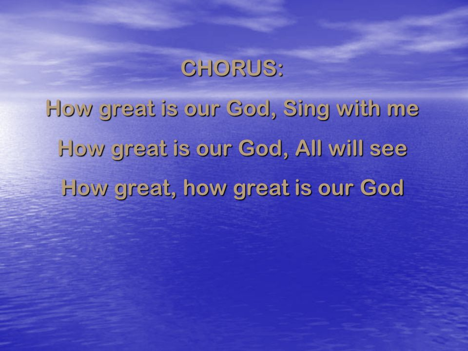 CHORUS: Oh happy day, happy day You washed my sin away Oh, happy day, happy day I'll never be the same Forever I am changed