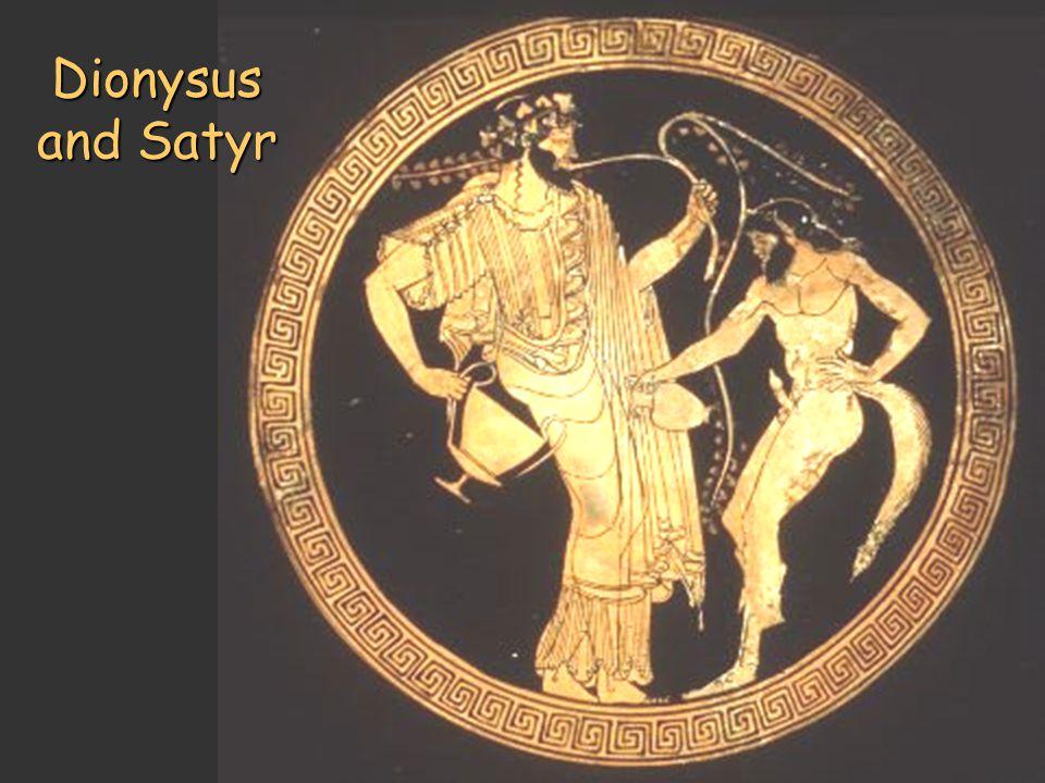 Dionysus and Satyr