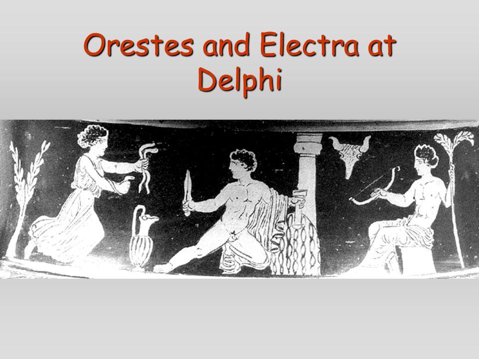 Orestes and Electra at Delphi