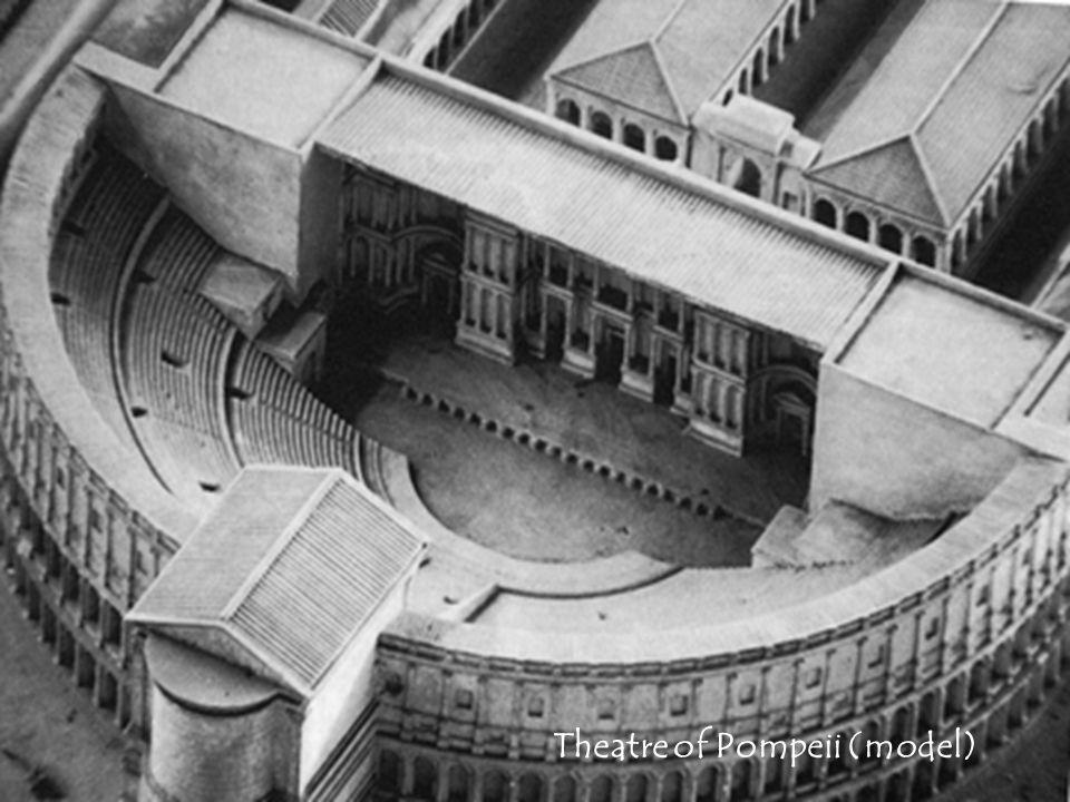 Theatre of Pompeii (model)