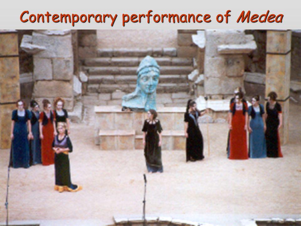 Contemporary performance of Medea