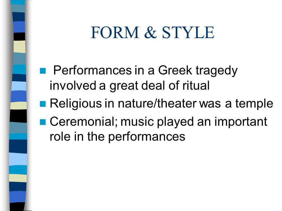 An Overview Introductory Notes to Antigone Greek Tragedy