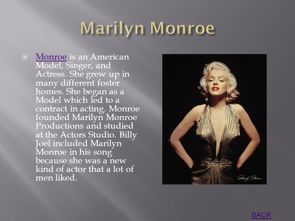  Monroe is an American Model, Singer, and Actress.