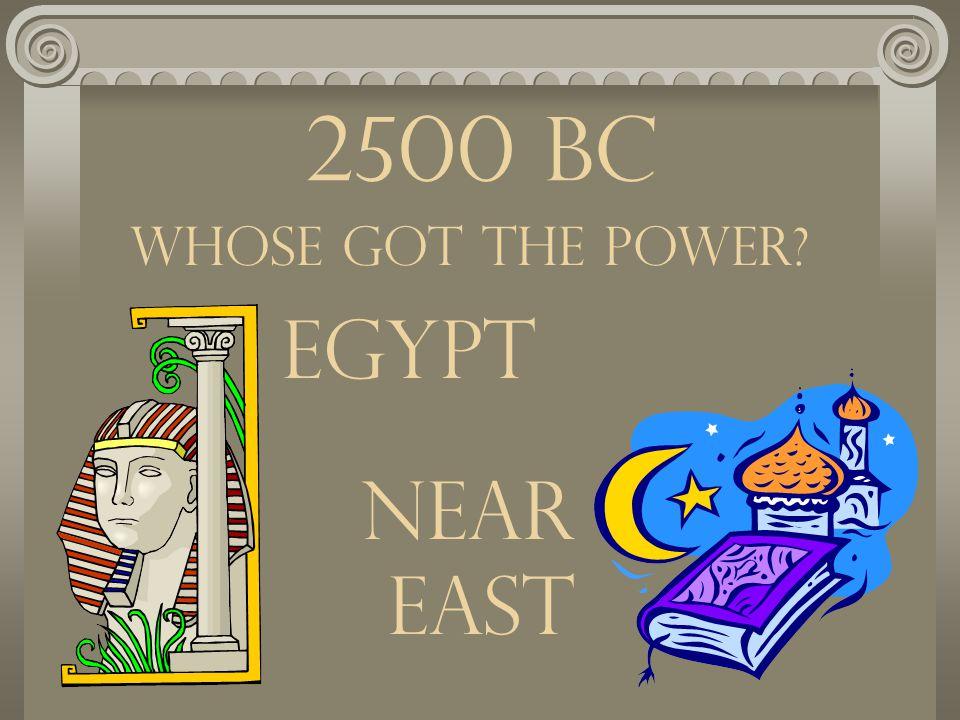 Greek History 2500 - 500 BC
