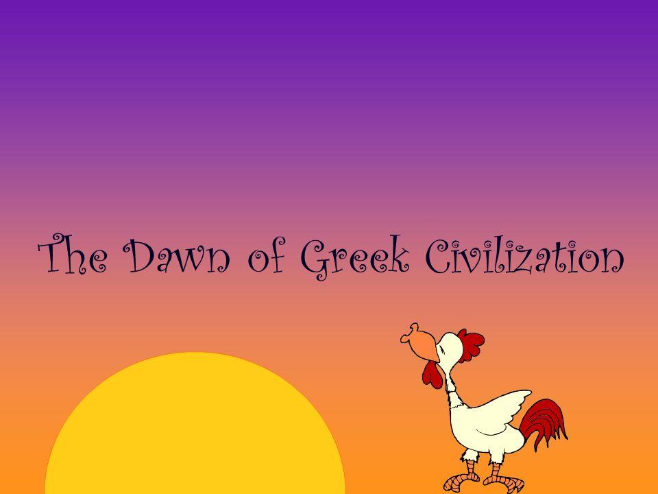 DARK AGES 1100 - 800 BC