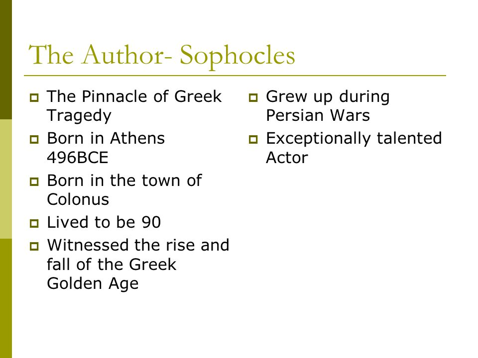 Greek Theater- Use the lecture to answer these questions:  Where were Greek tragedies staged.