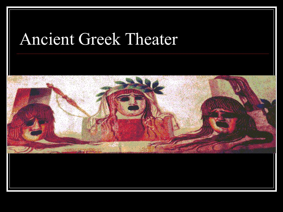 In contrast with the chorus of 12 or 15, there were only three actors in fifth-century Athenian tragedy.