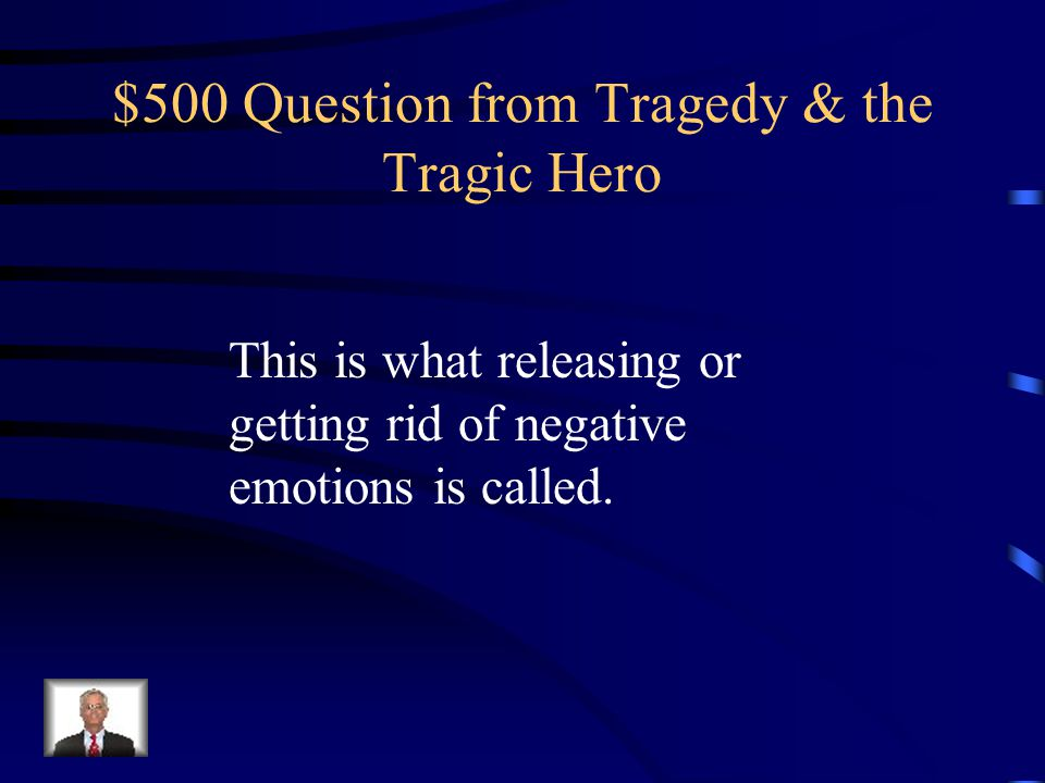 $400 Answer from Tragedy & the Tragic Hero Who is Sophocles