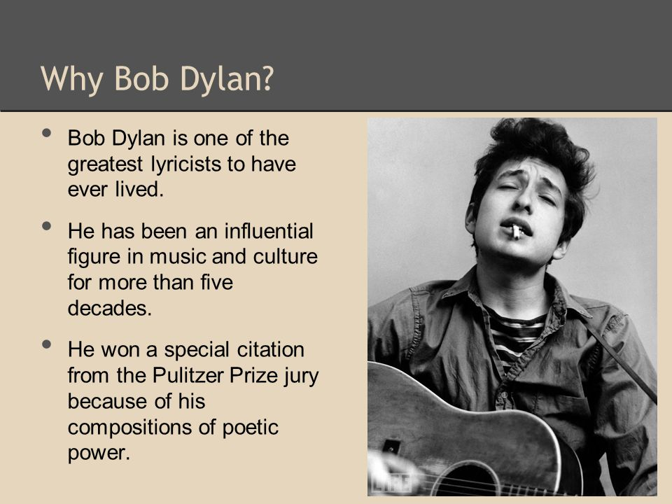Later On Bob Dylan continued making many more albums, all having powerful and meaningful lyrics.