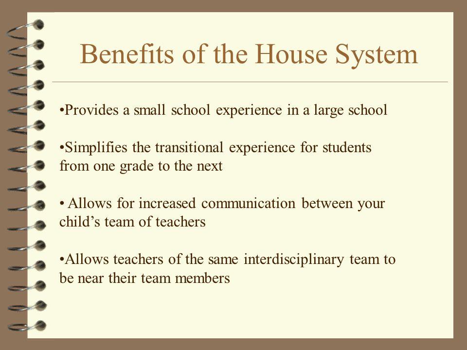 Interdisciplinary Teams 4 Each interdisciplinary team consists of two or three teachers.