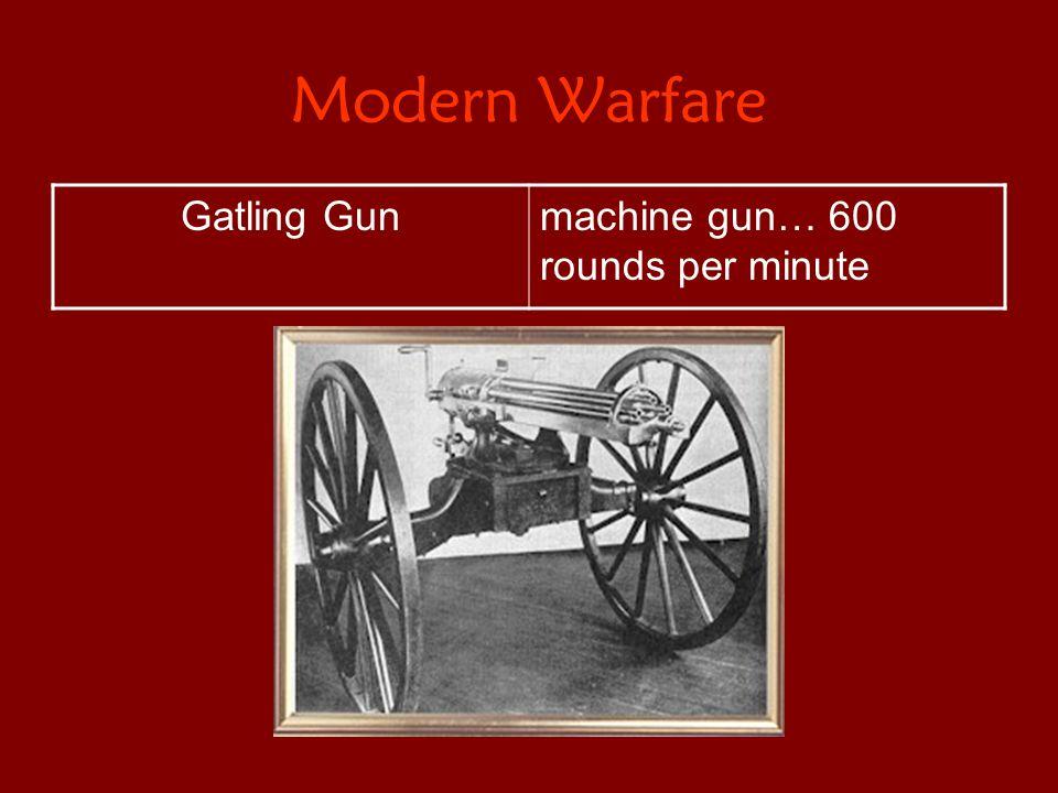 Modern Warfare Gatling Gunmachine gun… 600 rounds per minute