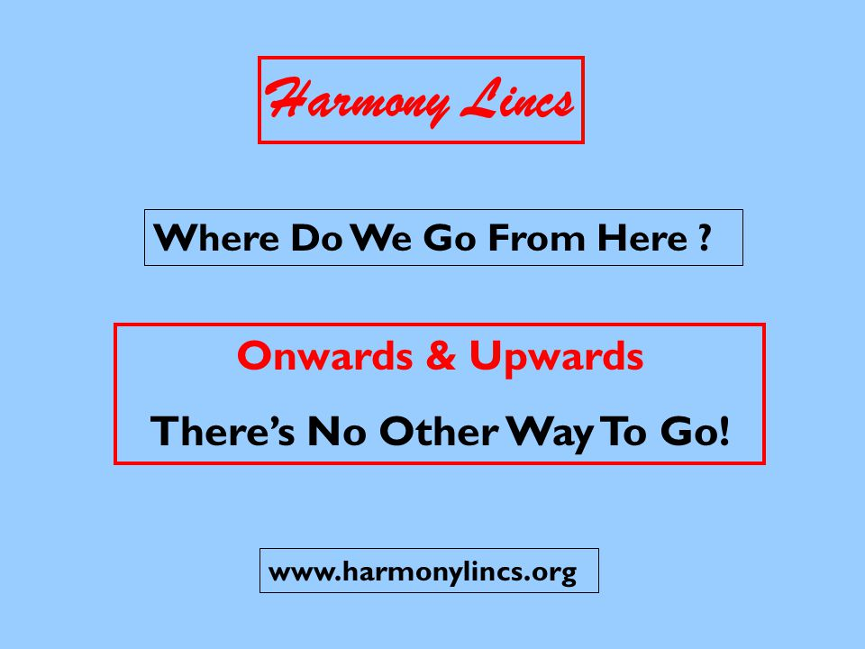 Harmony Lincs RETENTION - The Difficult Bit !.