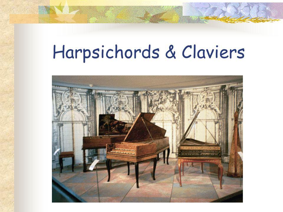 Harpsichords & Claviers