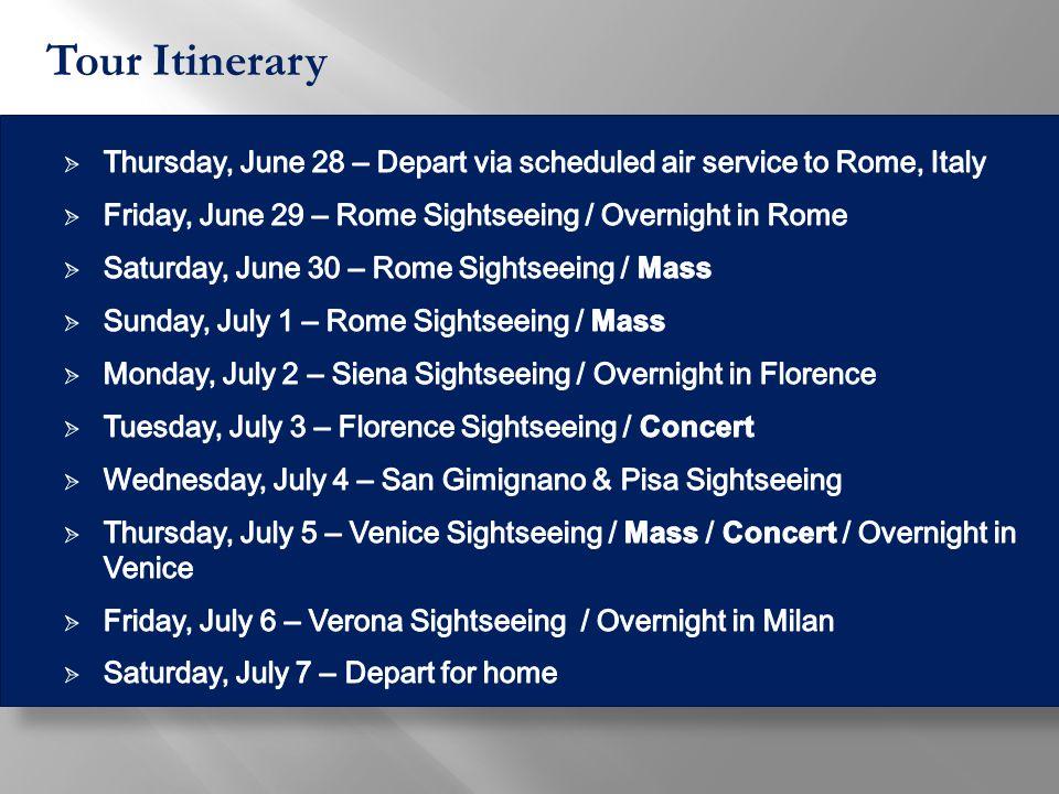 St. Mark's Basilica (sing/participate in mass)